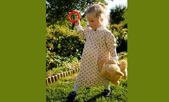 23. og 24. september, kurs i håndsying av barnekjole