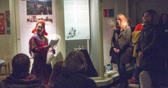 fra utstillingen en samisk sølvring